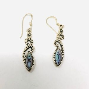 Jewelry - Sterling silver, mother of pearl earrings